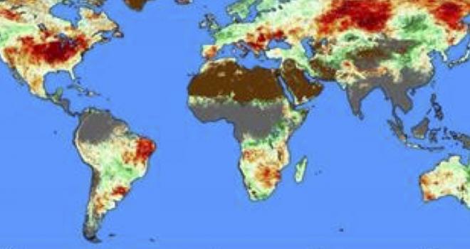 Global ESI data map