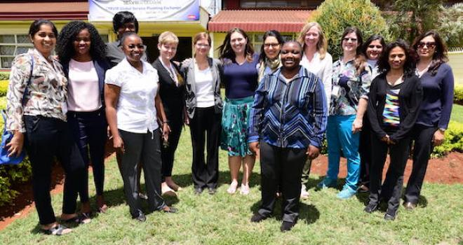 Photo of Participants of the SERVIR Service Planning,  Workshop in Nairobi, Kenya