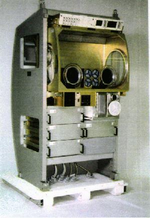 the new glovebox for ISS