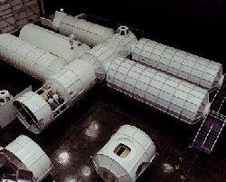 space station mockup