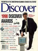 Discover magazine cover , July 1998, used by permission