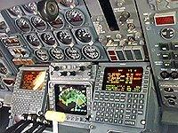 DC-8 radar console