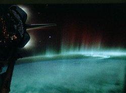 STS-39 and aurora australis