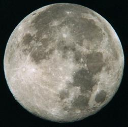 March 1999 Full Moon. Photo courtesy Fred Ruszala