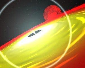 artist's concept of a neutron star