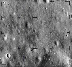 Ranger 8, five seconds before lunar impact
