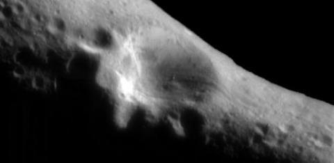 first light image from Eros orbit