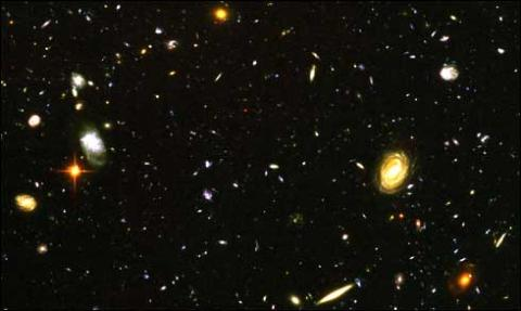 Universe Galaxies-3 Deep Field