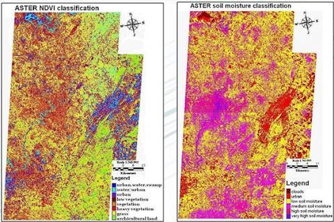 Tracking Ticks via Satellite (map, 568 px)
