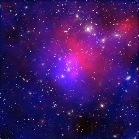 Abell 2744, Galaxy Clusters Collide