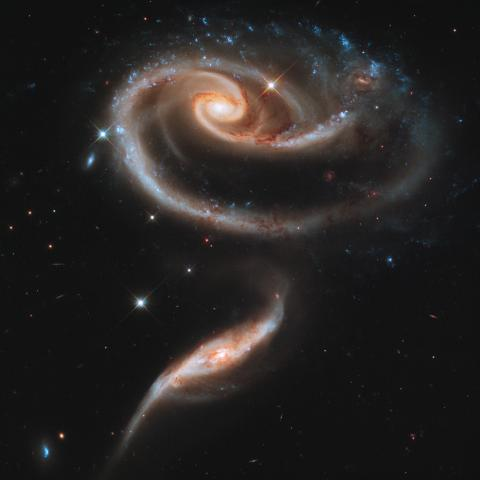 Galaxies Arp 273 and UGC 1810
