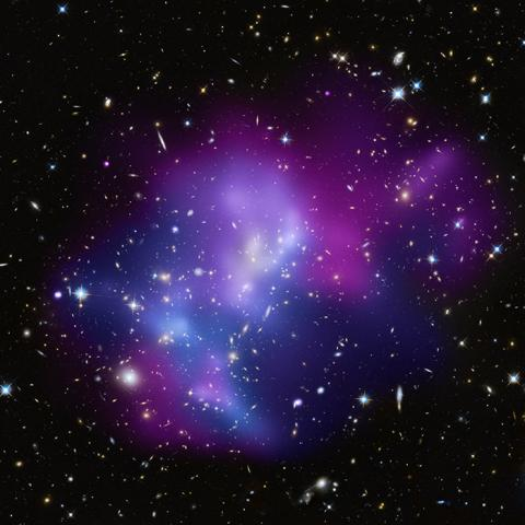 Galaxy Cluster MACS J0717.5+3745