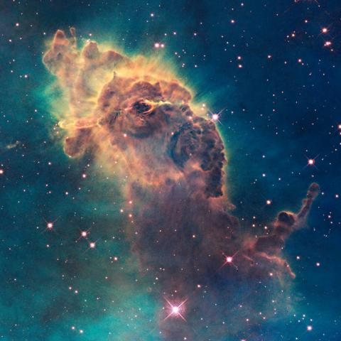 Pillar in the Carina Nebula