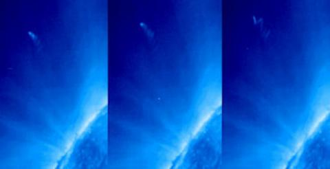 Hot Comet (wiggling comet tail, 558px)