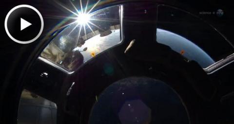 ISS Transit (splash, 558px)