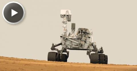 Where Will Curiosity Go First? (splash)