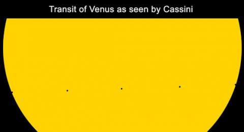 Saturn Transit of Venus (Saturn transit, 558px)