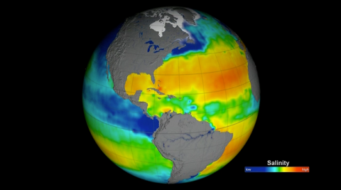 First full year of validated ocean surface salinity