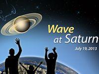 Cassini's Blue Dot (wave, 200px)