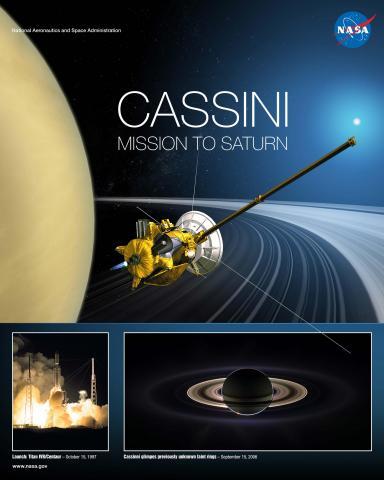 Cassini Mission Poster