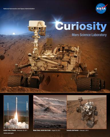 Curiosity Mission Poster