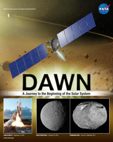 DAWN Mission Poster
