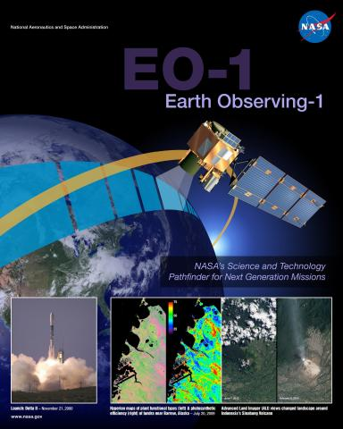 EO-1 Earth Observing Mission Poster