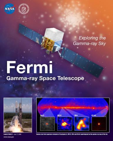 Fermi Mission Poster