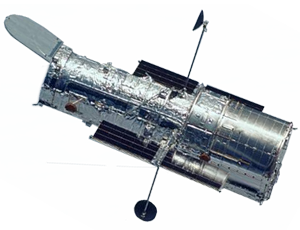 Hubble spacecraft icon