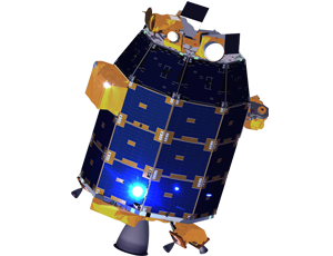 LADEE spacecraft image