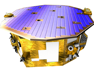 LISA pathfinder st7 spacecraft icon