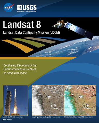 Landsat 8 Mission Poster