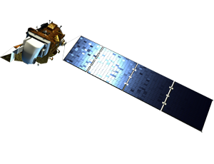Landsat 8 spacecraft icon