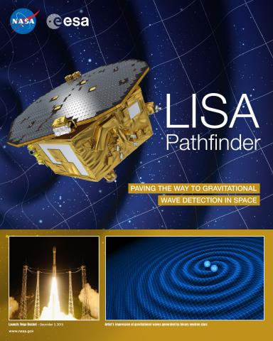 LISA Pathfinder Mission Poster