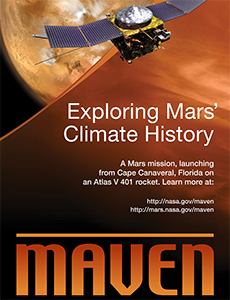 MAVEN Exhibit Banner
