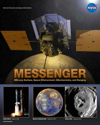 Messenger Mission Poster