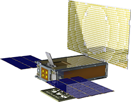 Mars Cube One spacecraft illustration