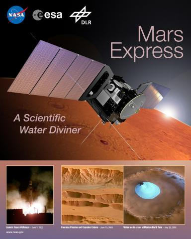 Mars Express Mission Poster