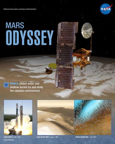 Mars Odyssey Mission Poster