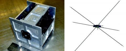 Photo of cubesat
