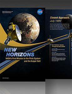 New Horizons Exhibit Poster