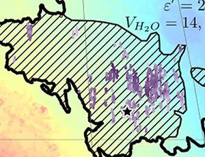 Utopia Planitia (hashed)