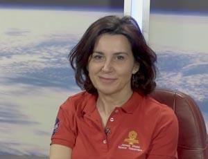 Still from video of Begona Vila