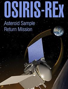 OSIRIS REx Exhibit Banner