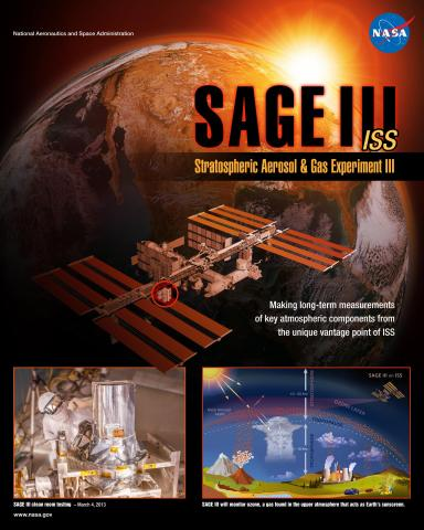 SAGE III mission poster