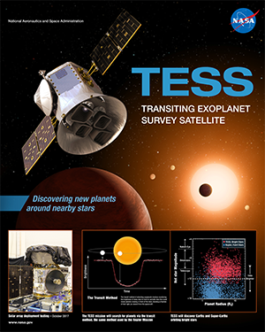 TESS Mission Poster