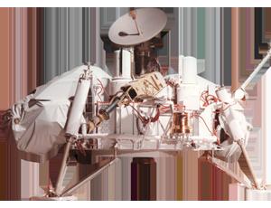 Viking Lander spacecraft icon