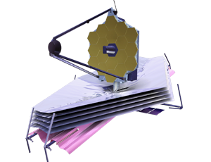 JWST spacecraft icon