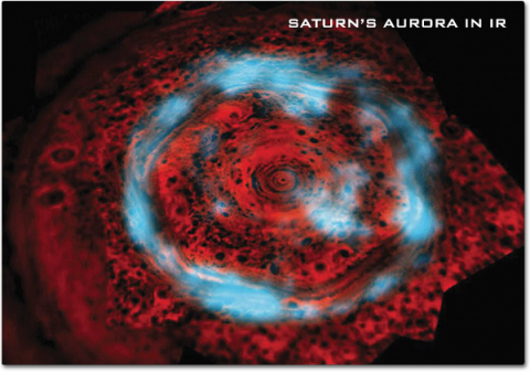 Saturn's Aurora in IR