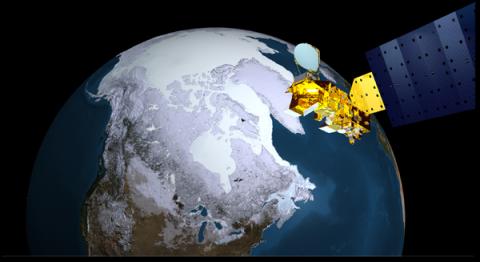 Arctic Sea Ice from AMSR-E
